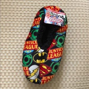DC Comics Justice League Little Kid Slipper Socks